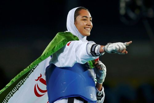 Iran's only female Olympic medalist moving to Germany