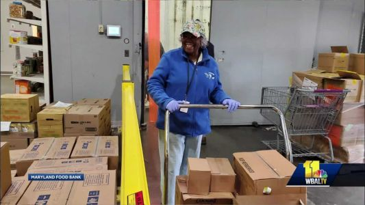 Maryland Food Bank continues to operate during coronavirus pandemic