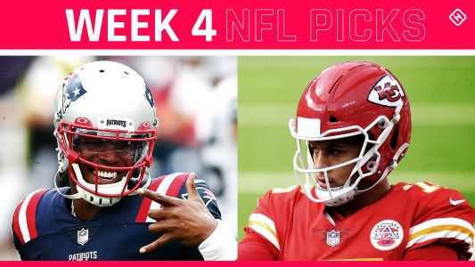 NFL picks, predictions against spread Week 4: Chiefs edge Patriots; Steelers tame Titans; Seahawks, Cowboys rock