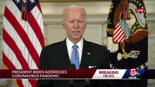Biden wants all teachers to get first vaccine shot by end of March