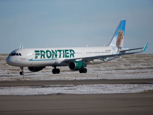 Frontier Airlines says it canceled a flight after booting a group of maskless passengers. Now it's facing claims of anti-Semitism