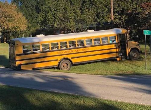 Troopers respond to school bus crash on a busy Upstate highway