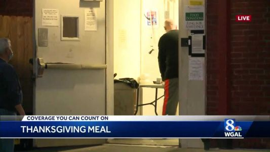 Bethesda Mission serves Thanksgiving meals