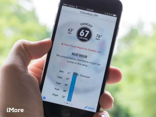 Keep track of storms with these great weather apps