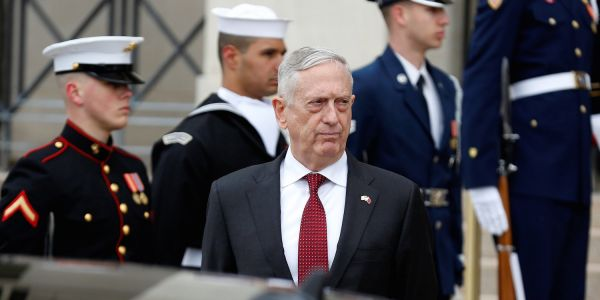 Trump is reportedly pushing for 'sweeping' strikes in Syria - but Mattis is pushing back