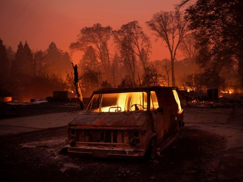 A contagious virus is infecting people at California evacuation shelters amid the state's most destructive wildfire in history