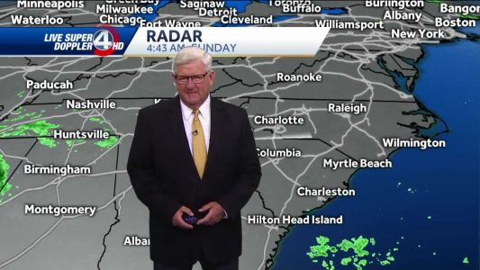Videocast: Mostly cloudy, midday showers