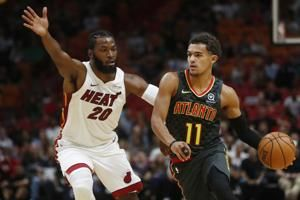 Trae Young gladly accepts roles as new face of the Hawks
