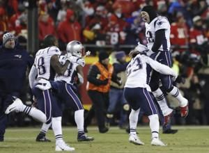 NFL investigating laser pointed at Brady in AFC title game