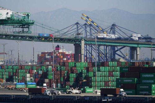 Governor Newsom signs executive order to alleviate congestion at California's ports
