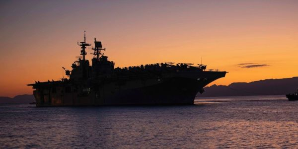 How the Navy's boatswain's mates get the USS Bataan into and out of ports around the world