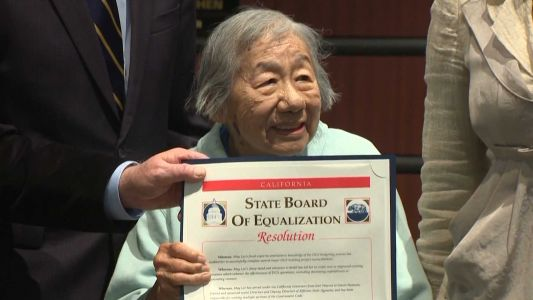 At 100 years old and nearly 80 years on the job, it's still not quitting time for May Lee