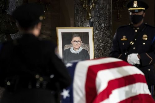 Justice Ruth Bader Ginsburg buried at Arlington in private ceremony