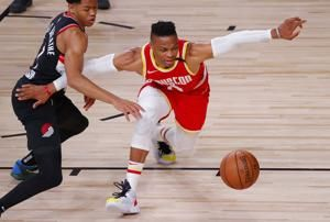 Lillard, Anthony help Blazers over Rockets, 110-102