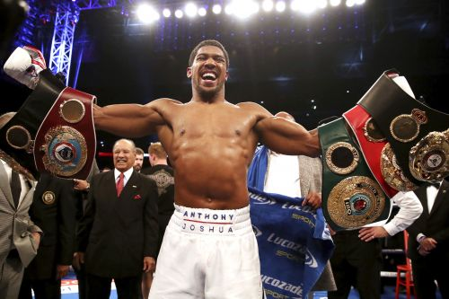 Anthony Joshua moves step closer to his megafight