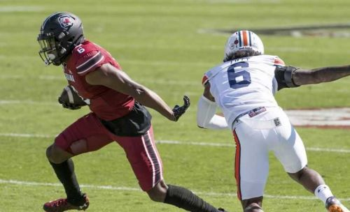 South Carolina tops No. 15 Auburn for first time since 1933