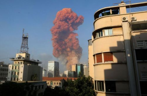 Watch: Massive explosions rock Beirut with widespread damage, injuries