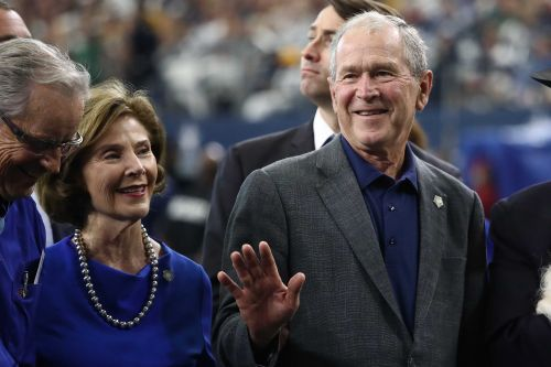 President Bush says he voted in the 2020 election. But it wasn't for Biden or Trump
