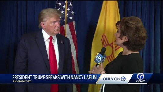 President Trump talks to KOAT about his 2020 plans for New Mexico