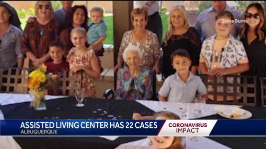 Family of infected 100-year-old woman asking for prayers