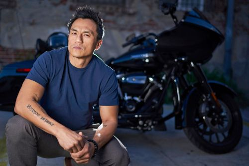 This motorcycle-riding shrink says dudes need to man up