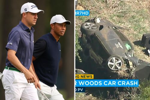 Tiger Woods injured in car crash, extracted from SUV due to major vehicular damage in accident