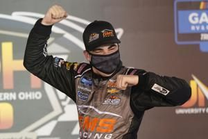 Teen ace Mayer scores upset Truck Series victory at Bristol