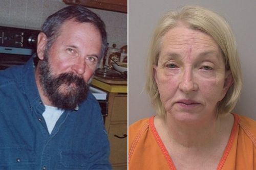 Woman who offered $25k reward in husband's murder arrested for his death