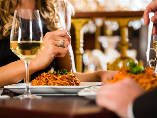 A California man may be facing jail time after inviting women to dinner, ordering expensive wines and lobster, and leaving them to pick up the tab