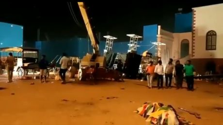 'Horrific accident': 3 killed, 10 injured after crane collapses on 'Indian 2' Bollywood movie set