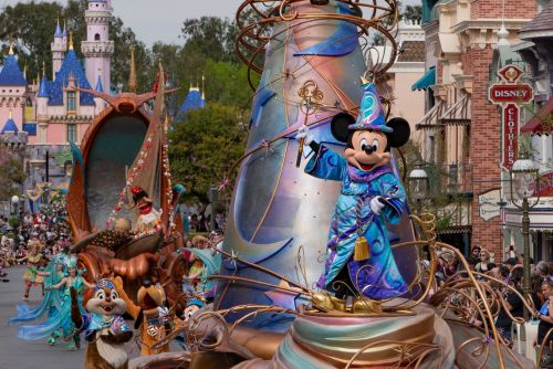 Disneyland just released a virtual viewing of its newest parade