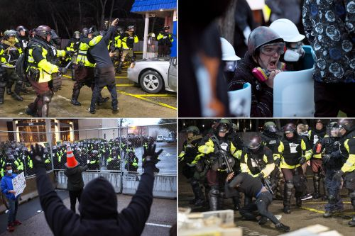 Over 50 protesters arrested during second night of violence in Minnesota
