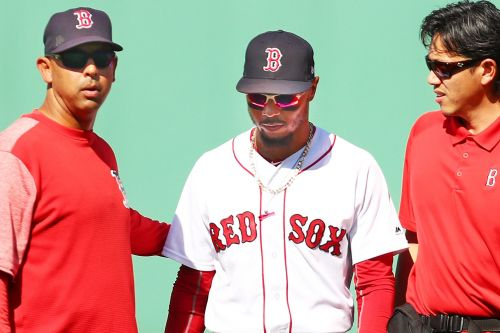 Red Sox get real Mookie Betts scare