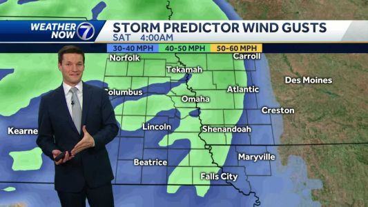 High Wind Warning in effect into Saturday morning, power outages possible