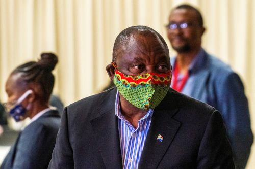 South Africa's president tells rich nations to stop hoarding COVID-19 vaccines