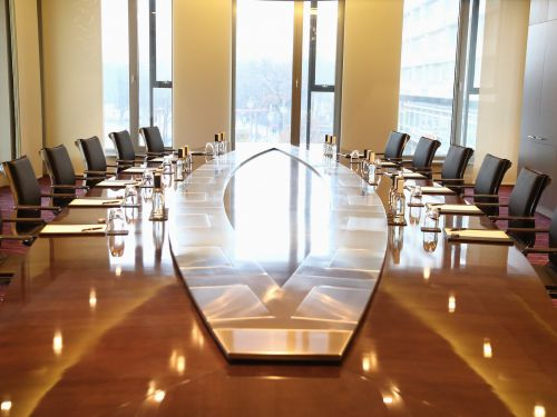 At my first boardroom meeting, there wasn't a seat for me at the table. This is how I jokingly asked the CEO to make room for my chair