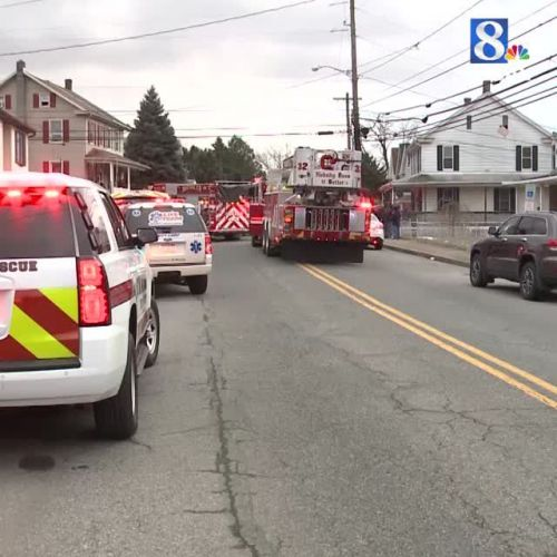 Woman taken to hospital after fire in Swatara Township