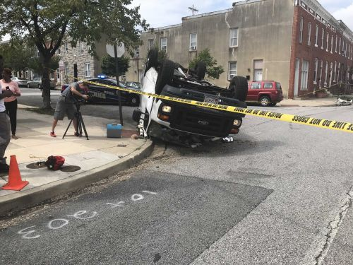 Multiple cars involved in crash after carjacking