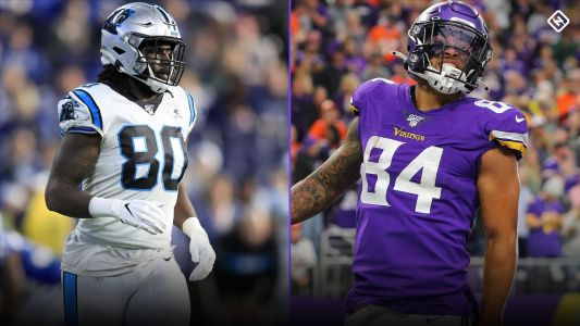 Fantasy Football TE Sleepers: Ian Thomas, Irv Smith Jr., and Taysom Hill among potential breakout tight ends