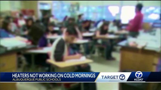Heaters in APS classrooms not working during cold snap