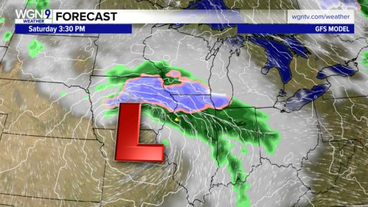 Snow on Saturday? Spring storm bringing cold, wet, windy weather