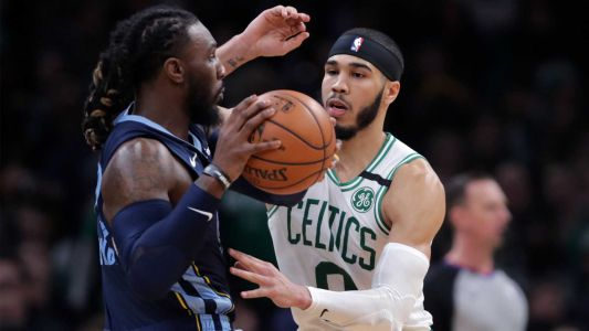 Celtics crush Grizzlies; Tatum scores 23 before leaving game with injury