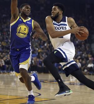 Curry scores 38 to push Warriors past Timberwolves 116-108