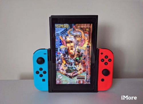 Using the Flip Grip is the best way to play retro and pinball Switch games
