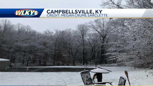 Some got first snow of the season, and a little more is on the way