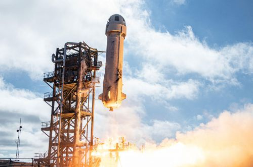 Blue Origin Sends Kids' Postcards to Space on New Shepard Launch