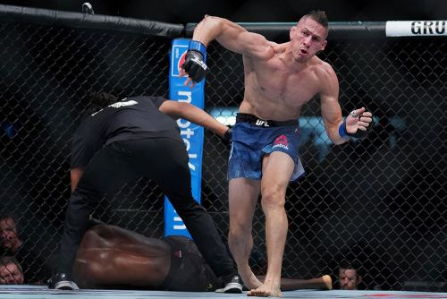 Randy Brown says he's off UFC on ESPN+ 1 card in Brooklyn - despite being '100 percent healthy'