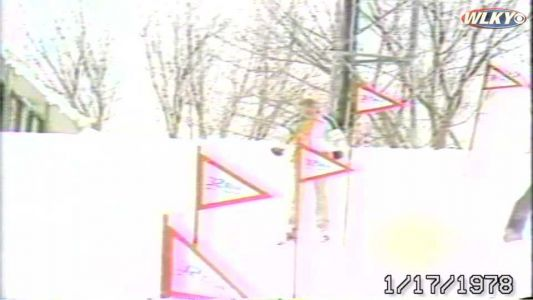 WATCH: Back in the day, snow transformed WLKY's hill into a ski run