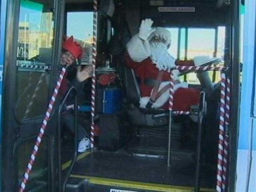 MTA's Holiday Bus returns for 42nd year of celebrating the season