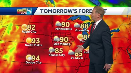 Videocast: It's going to be a hot Memorial Day weekend